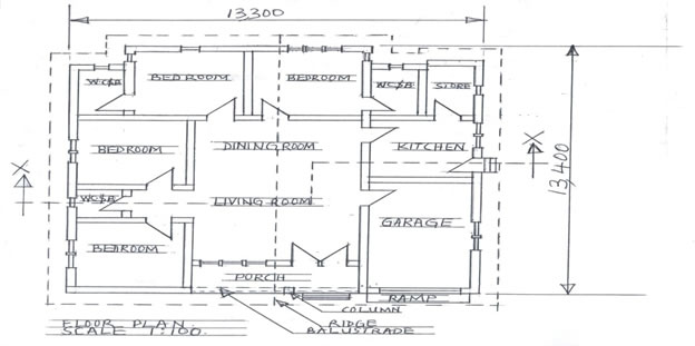 Technical Drawing Front Elevation : Technical drawing paper nov dec