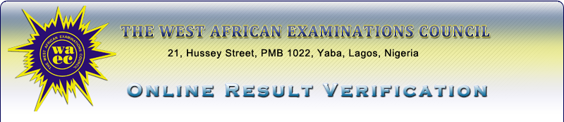 waec online result verification portal